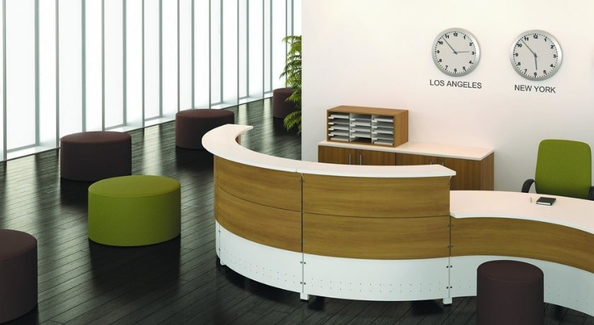 Artopex - Modern Reception Desk Curved