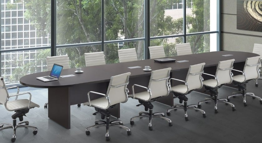 Circular End Conference Table