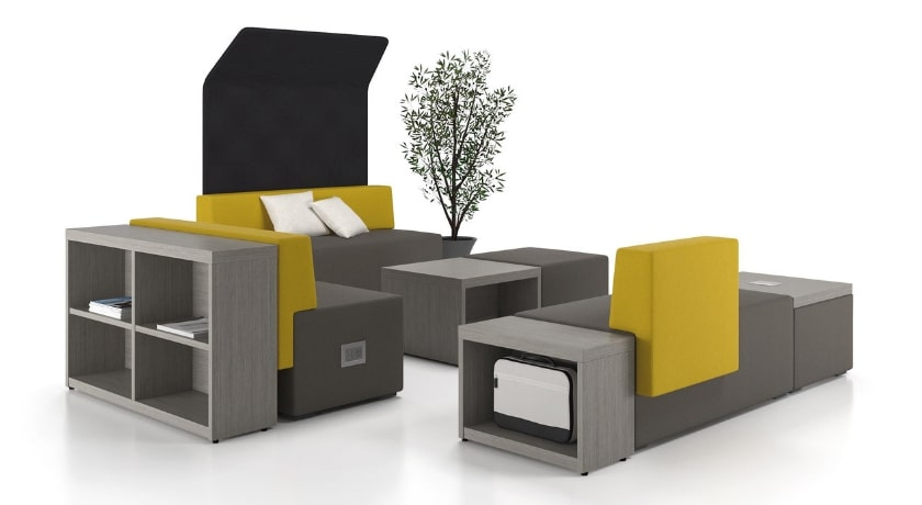 Downtown Series - Artopex collaboration furniture with storage