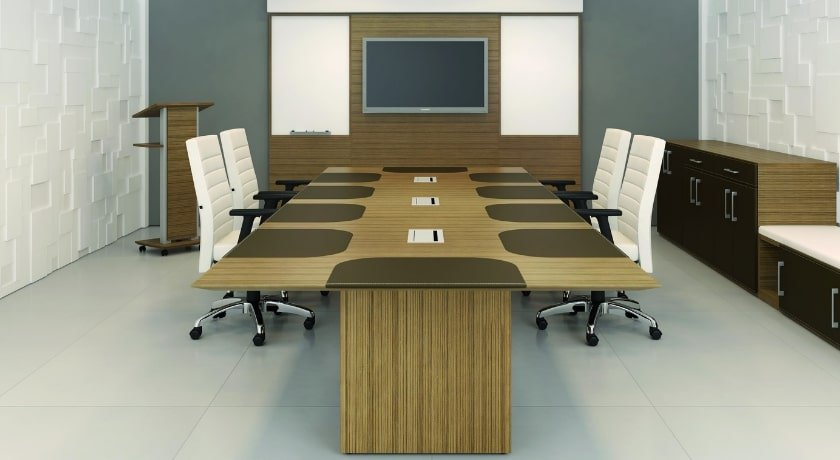 Veneer Conference Table - Maple